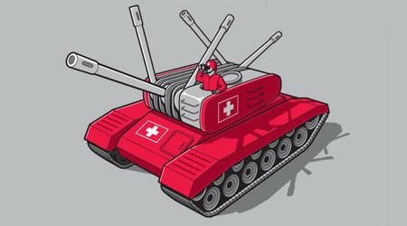 スイスを連想させる戦車