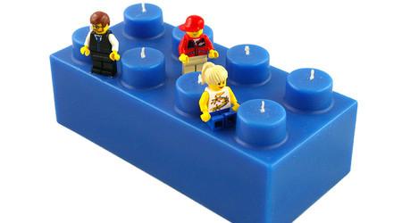 レゴのキャンドル