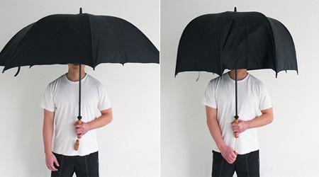 礼儀正しい傘