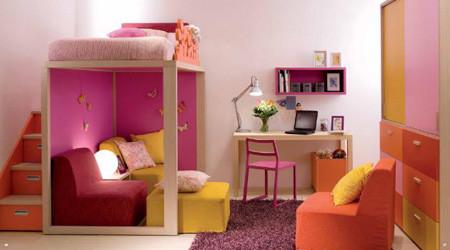 子どもには贅沢なベッドルーム
