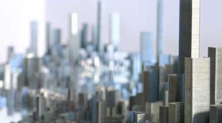 ホッチキスが描く未来都市