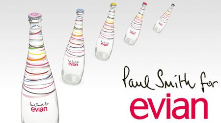 ポール・スミスがデザインのエビアン