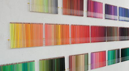 500の色鉛筆でグラフィカル・アート