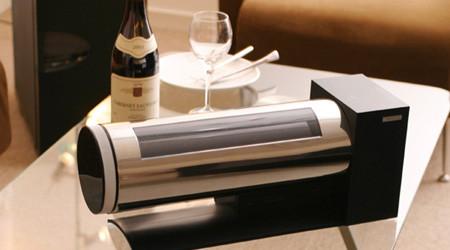 卓上をオシャレに飾るワインセラー