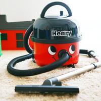 お掃除大好きヘンリー君