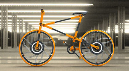 世界最小の折りたたみ自転車