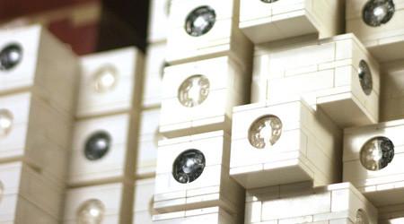 レゴの中銀カプセルタワービル
