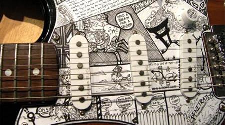 俺色に染められたギター