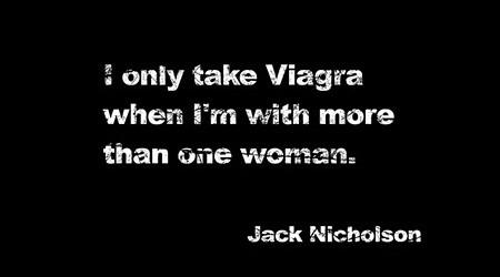 ジャック・ニコルソン曰く…