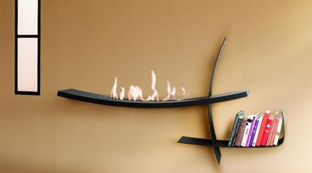 モダンでスタイリッシュな暖炉