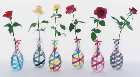 折りたためる花瓶