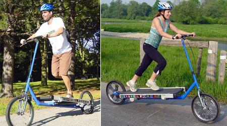 ランニングマシーンと自転車の融合