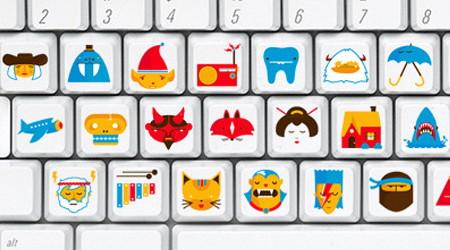 右脳で覚えるキーボード