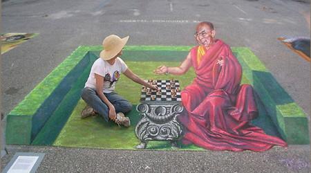 3Dストリートアートの世界