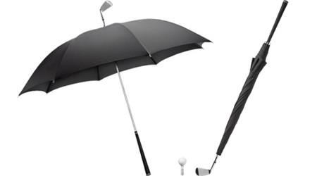 ゴルフのスイングをしたくなる傘