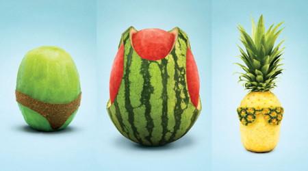 夏を感じるマーケット広告
