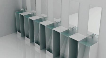 エコな男性用トイレ