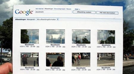 超アナログのグーグル・イメージ