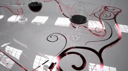 モダンで猫足のコーヒーテーブル