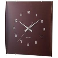 曲面ガラスが美しい掛け時計