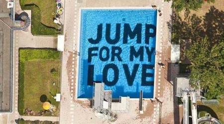 愛に向かって飛び込め