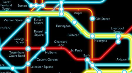 ロンドンを『トロン:レガシー』に染める