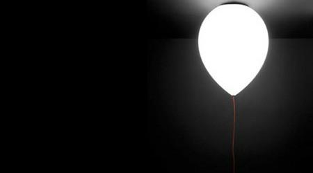 風船になった照明
