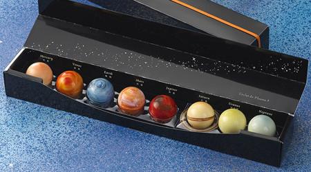 宇宙の輝きがコンセプトの惑星ショコラ