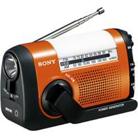 スマホの充電もできる多機能手回しラジオ:SONY  ICF-B08