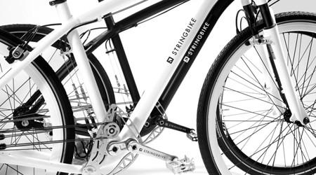 ギアではなくストリングで走る自転車