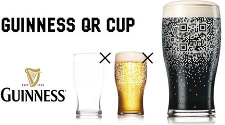 ギネスビールのソーシャルグラス