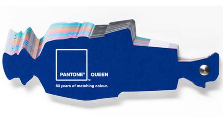 イギリス女王陛下がパントンの色見本に