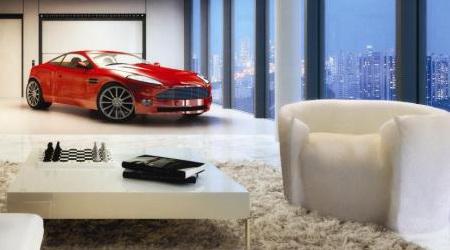 愛車を自室まで運んでくれるシンガポールの超豪華マンション