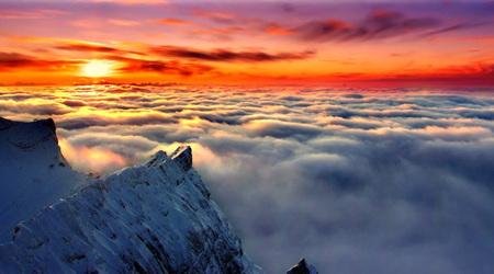 雲の上からこんにちわ