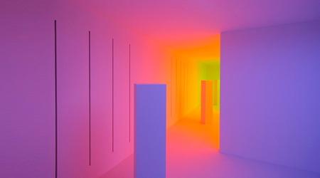 色彩感覚が麻痺するインタラクティブな部屋