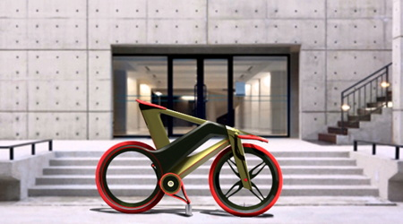 ファッションのように色や柄を簡単に変更できる自転車