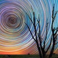 ゴッホ『星月夜』のような天体写真