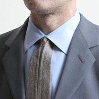 一瞬で結べる革新的なネクタイ