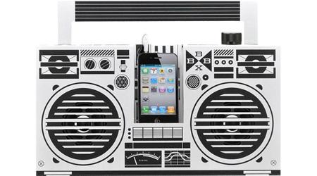 iPhoneをラジカセに変身させるDIY:Berlin BoomBox