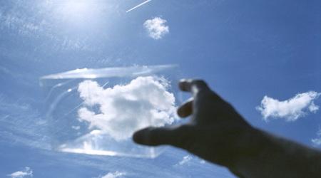 クラウド(雲)を捕まえた