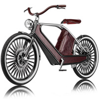 レトロxテクノロジー 豪華仕様の電動自転車:cykno