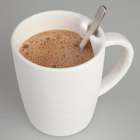 スプーン置き付きマグカップ