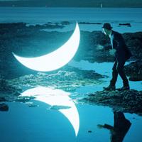 月を独り占め