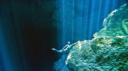 フリーダイバーによる未知なる冒険