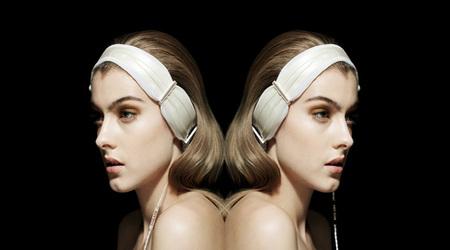 まるでヘアバンドのようなヘッドフォン:TWINE