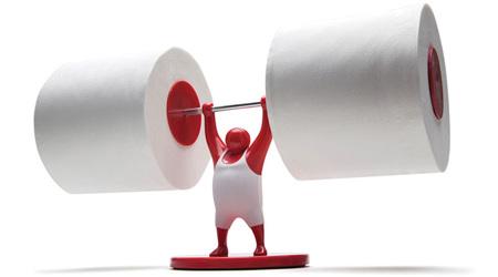 トイレットペーパーを支える縁の下の力持ち