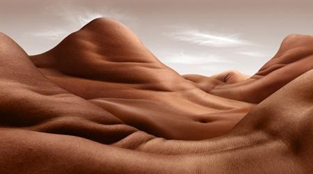 人体で作られた風景:ボディースケープ