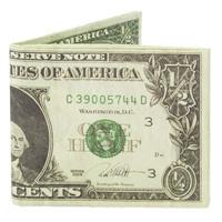 USドルをそのまま鷲づかみしたような財布:タイベック