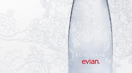 エリー・サーブがデザインのエビアン