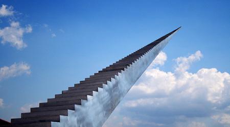 錯覚が織りなす天国への階段